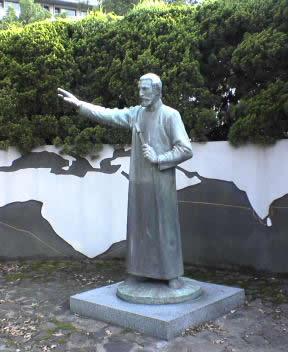 聖フランシスコ・ザビエル像